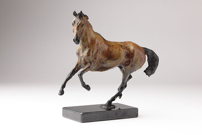 Skippy Bronze Horse