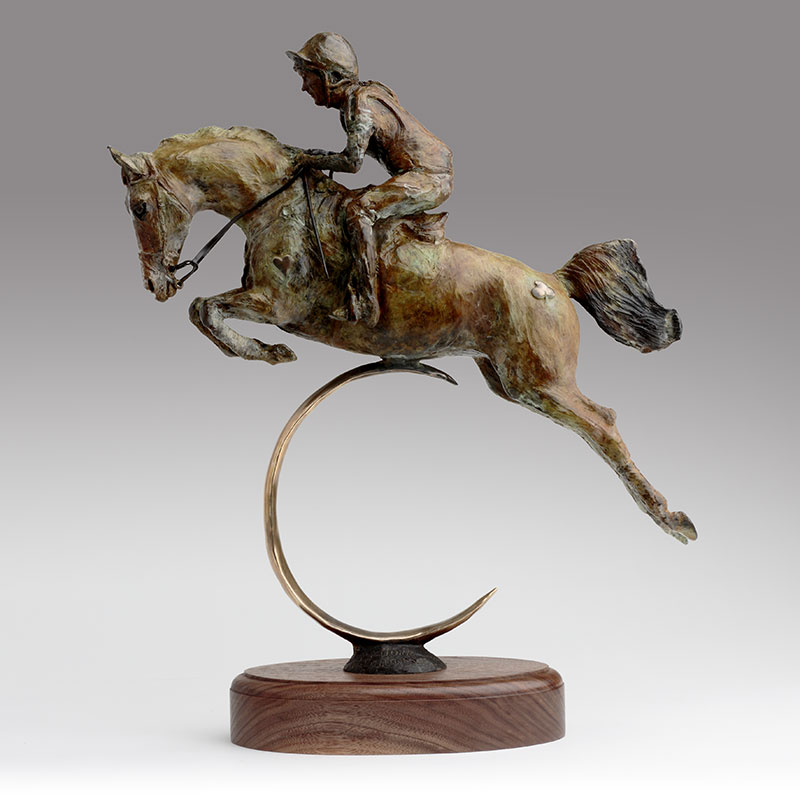 Belinda Sillars Bronze Horse Commission